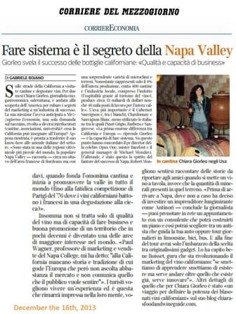 corriere economia 16 dec, 2013