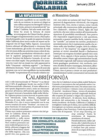 editoriale prof cerulo - corriere calabria - jan2014