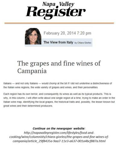 napa valley newspaper - california