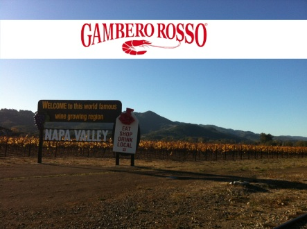 wine marketing in California: Chiara Giorleo for Gambero Rosso