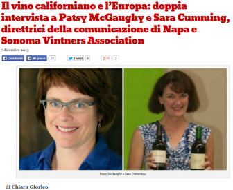 lucianoPignataro_double interview: napa and sonoma vintners association
