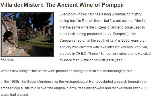 wine connoiss pompeii - parte1