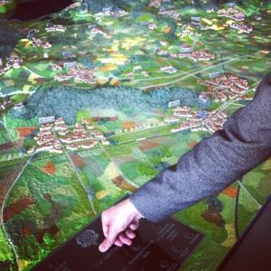the interactive map at ca' del bosco