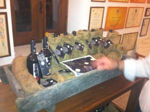 the bottles of the previous edition