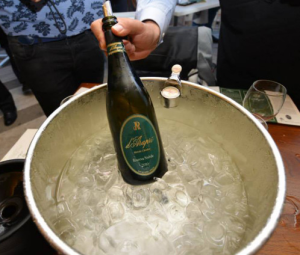 """d'Araprì winery with its sparkling wine """"Riserva Nobile"""""""