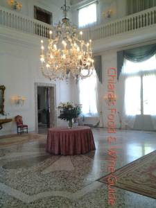 villa sandi from the inside