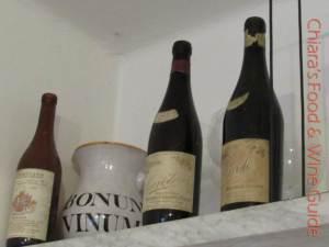 vecchie bottiglie di giuseppe mascarello